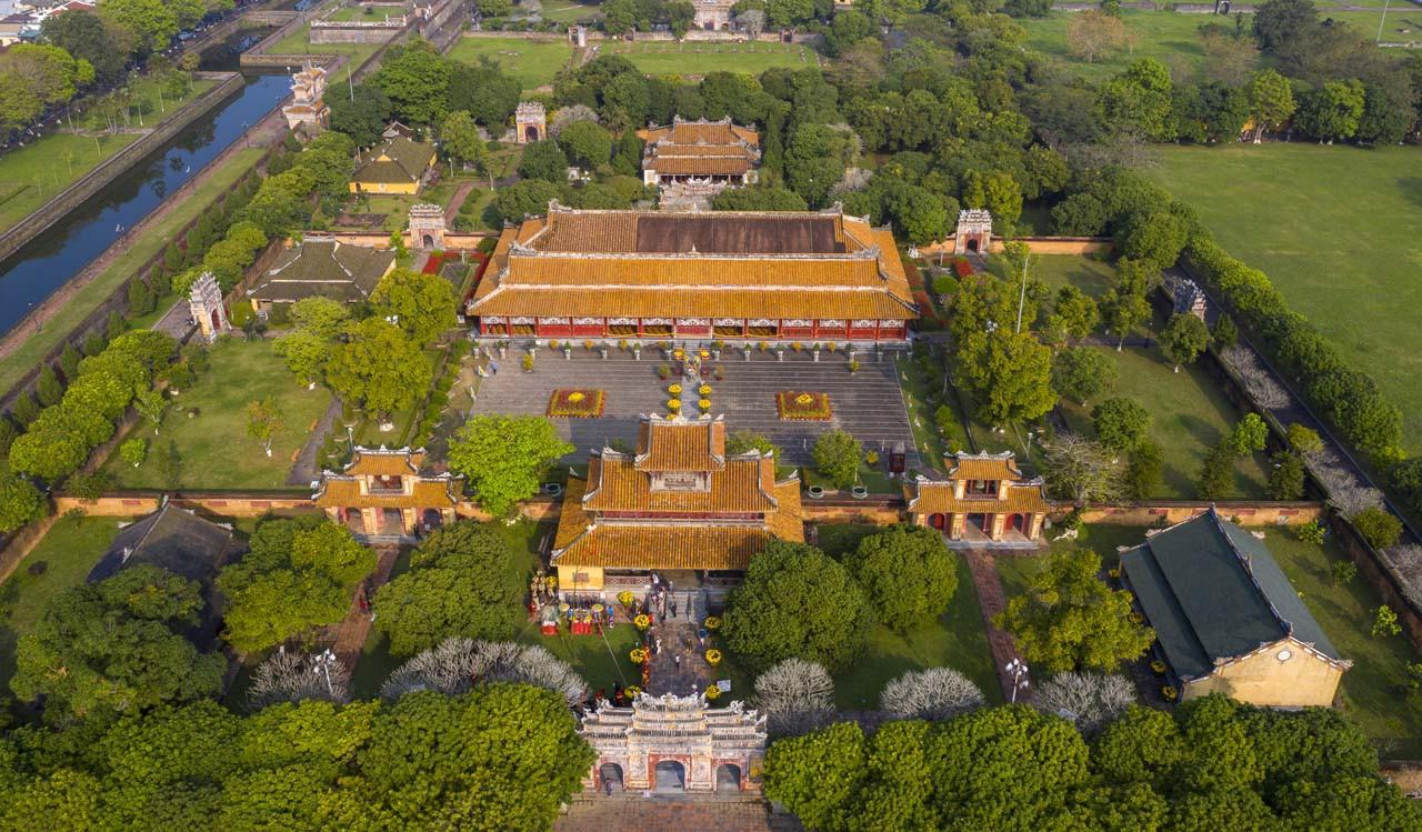 Đại Nội Kinh Thành Huế