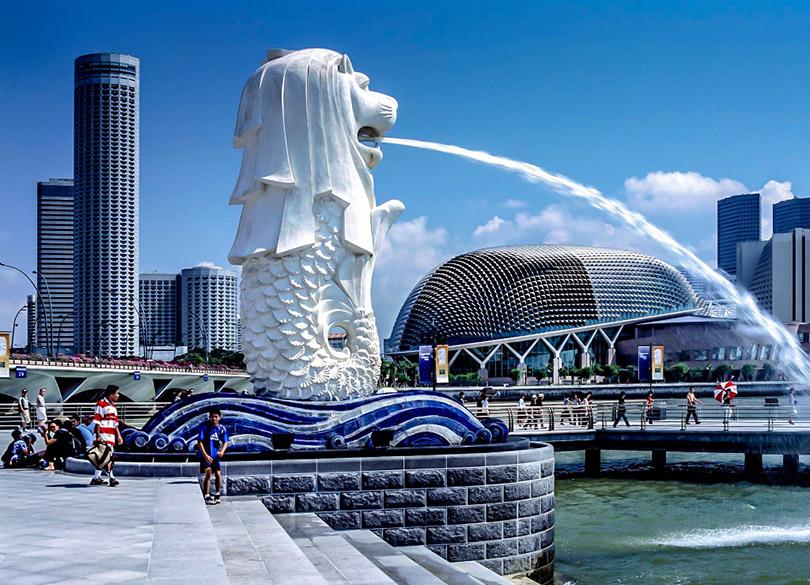 Sư Tử biển Merlion – Du lịch Singapore